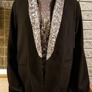 A.N.ANWT Black Light Weight Blazer & Cardigan NEW
